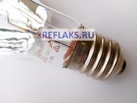 Металлогалогенная зеркальная кварцевая лампа ДРИЗ 150/3К мощность 150 Вт с цоколем Е40