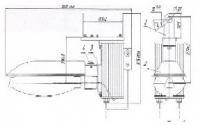 Тепличный светильник ЖСП 38ТЭк-600-001. У5 ЭПРА 380В