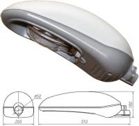 Светильник ЖКУ 33-150-012.01G Рефлакс