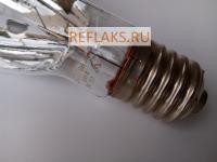 Натриевая зеркальная лампа ДНаЗ / Reflux 100-2 мощность 100 Вт с цоколем Е40