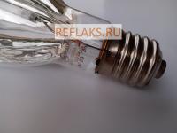Натриевая зеркальная лампа ДНаЗ / Reflux Ag 250-2М мощность 250 Вт с цоколем Е40